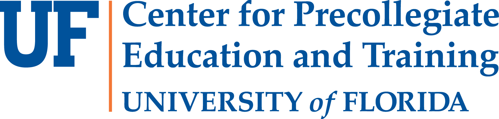 University of Florida Center for Precollegiate Education and Training logo